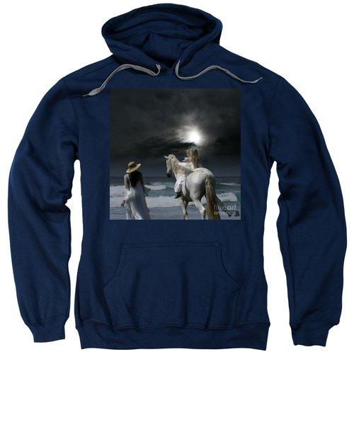 Beneath The Illusion In Colour Sweatshirt by Sharon Mau