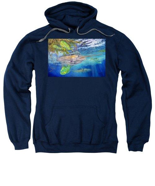 Big Blue Hunting In The Weeds Sweatshirt
