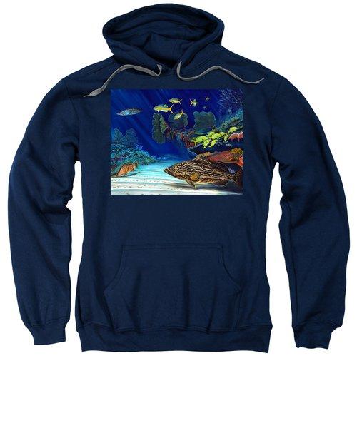 Black Grouper Reef Sweatshirt