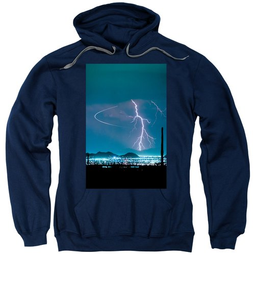 Bo Trek The Lightning Man Sweatshirt by James BO  Insogna