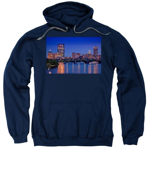 Boston Nights 2 Sweatshirt by Joann Vitali