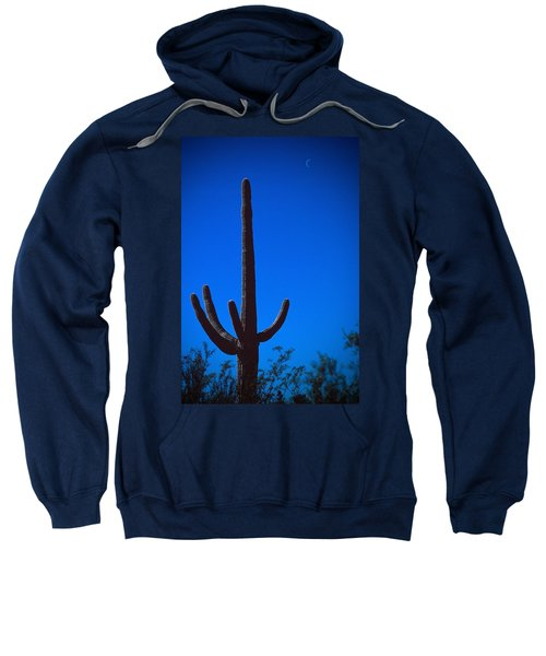 Cactus And Moon Sweatshirt