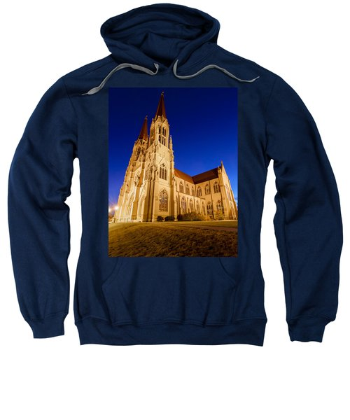 Morning At The Cathedral Of St Helena Sweatshirt