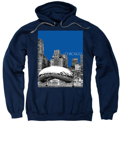 Chicago The Bean - Royal Blue Sweatshirt