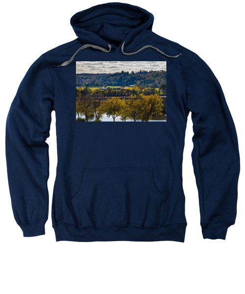 Clarksville Railroad Bridge Sweatshirt