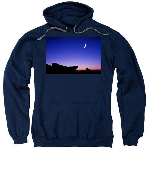 Crescent Moon Halibut Pt. Sweatshirt