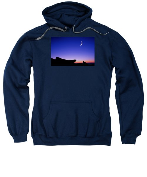 Crescent Moon Halibut Pt. Sweatshirt