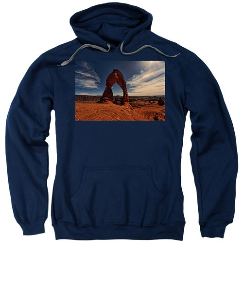 Delicate Arch Afternoon Glow Sweatshirt