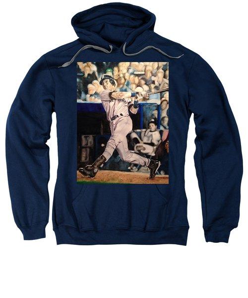 Derek Jeter Sweatshirt by Lance Gebhardt