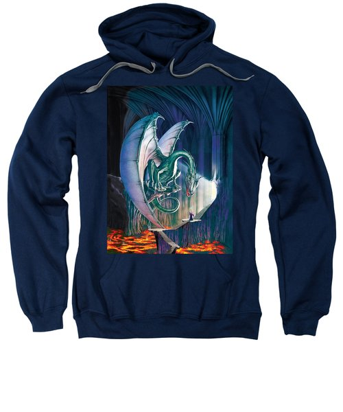 Dragon Lair With Stairs Sweatshirt