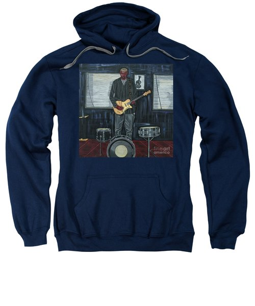 Drums And Wires Sweatshirt by Sandra Marie Adams