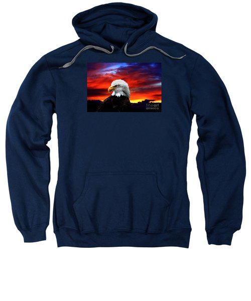 Eagle Sunset Sweatshirt