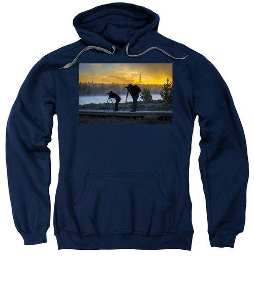 Early Birds Yellowstone National Park Sweatshirt