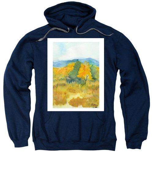 Fall Trees Sweatshirt