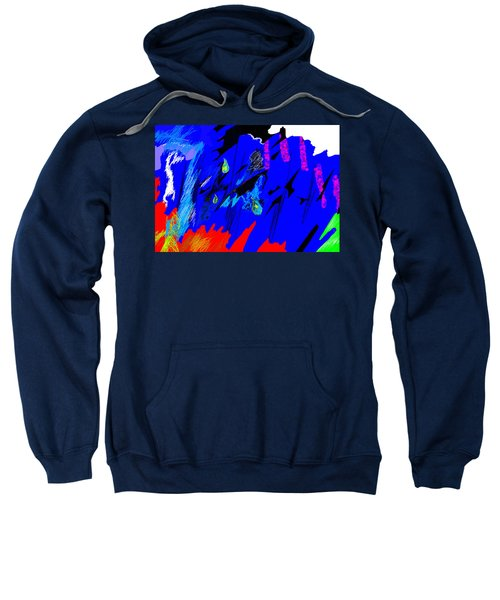 Falling Through Lightness  Sweatshirt