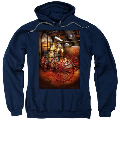 Fireman - One Day A Long Time Ago  Sweatshirt