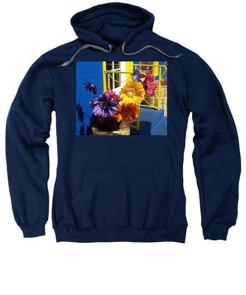 Flores Colores Sweatshirt