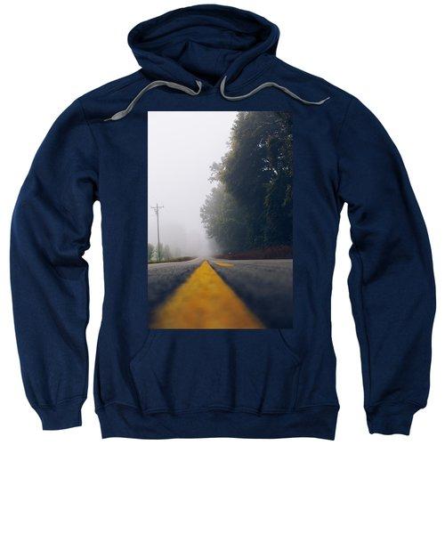 Fog On Highway Sweatshirt