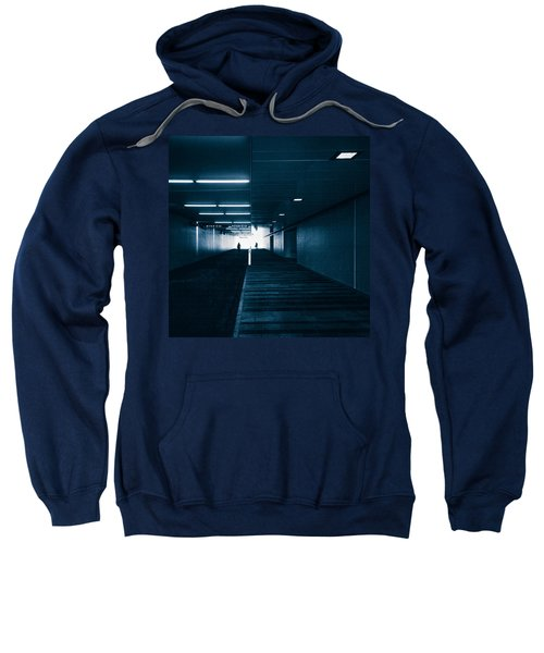 Gloomy Blue Sweatshirt
