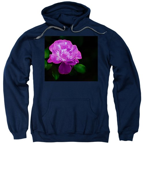 Glowing Rose II Sweatshirt