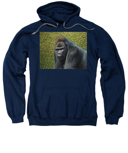 Gorilla With A Hedge Sweatshirt