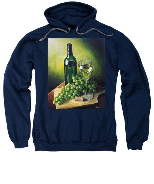 Grapes And Wine Sweatshirt