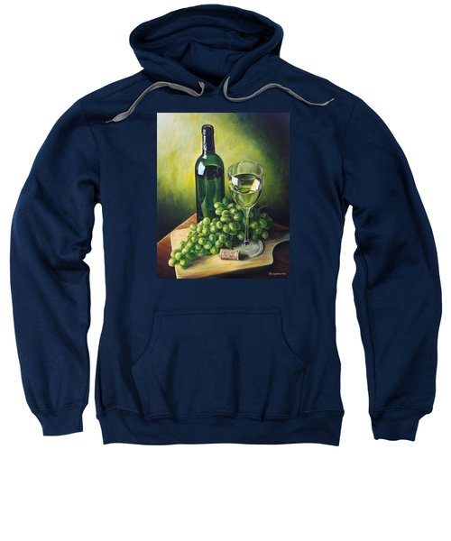 Grapes And Wine Sweatshirt