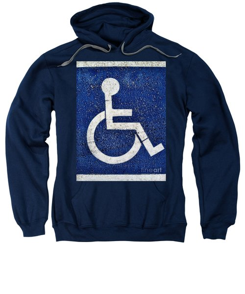 Handicapped Symbol Sweatshirt