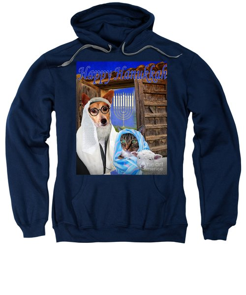 Happy Hanukkah -1 Sweatshirt