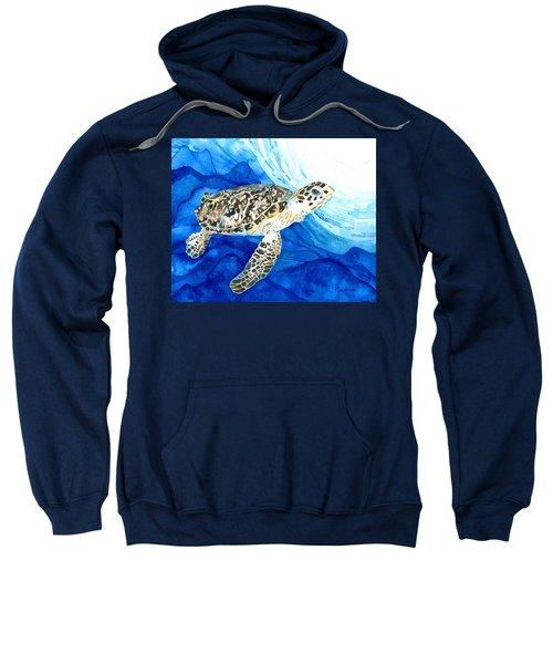Hawksbill Sea Turtle 2 Sweatshirt