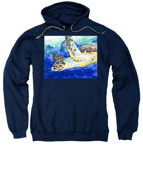 Hawksbill Sea Turtle Sweatshirt