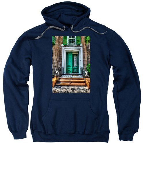 Historic Charleston Sc Door Sweatshirt
