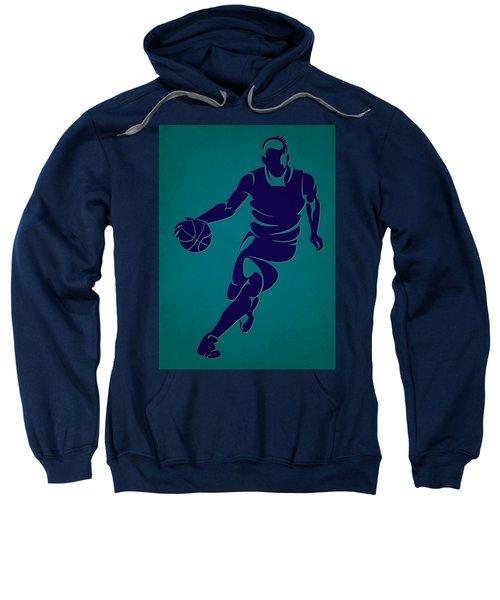 Hornets Basketball Player3 Sweatshirt