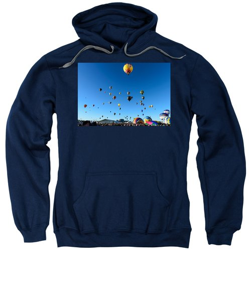 Hot Air Balloons Sweatshirt