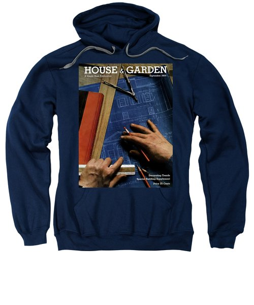 House And Garden Cover Of A Person Sweatshirt