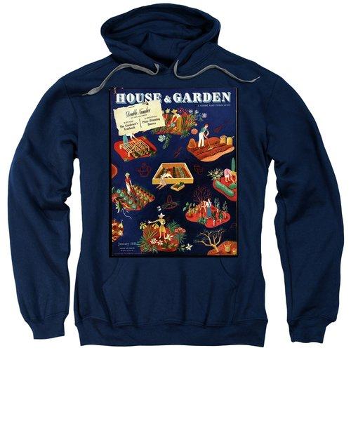 House And Garden The Gardener's Yearbook Cover Sweatshirt