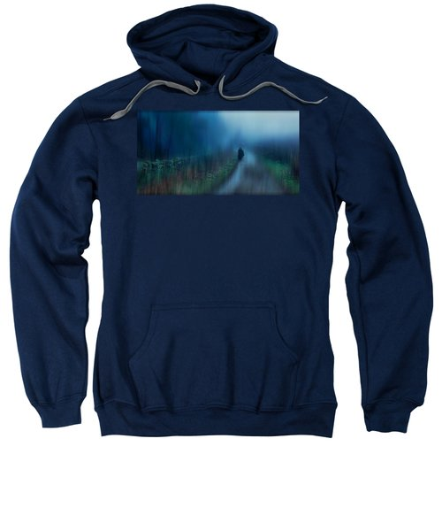 If You Are Leaving Just Leave Sweatshirt
