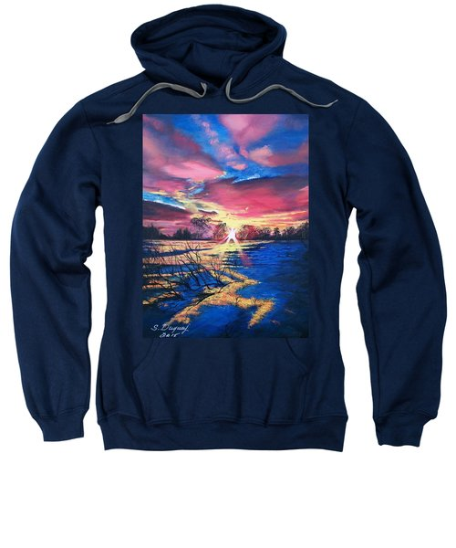 In The Still Of Dawn  Sweatshirt