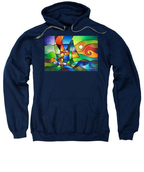Into The Wind Sweatshirt