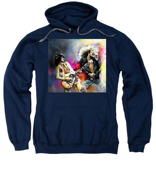 Jimmy Page And Robert Plant Led Zeppelin Sweatshirt