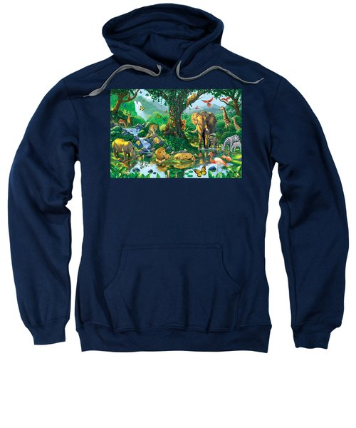 Jungle Harmony Sweatshirt by Chris Heitt
