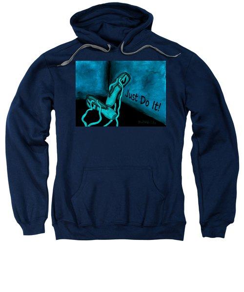 Just Do It - Blue Sweatshirt