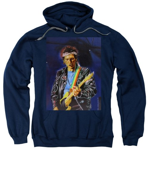 Keith Richards Of Rolling Stones Sweatshirt