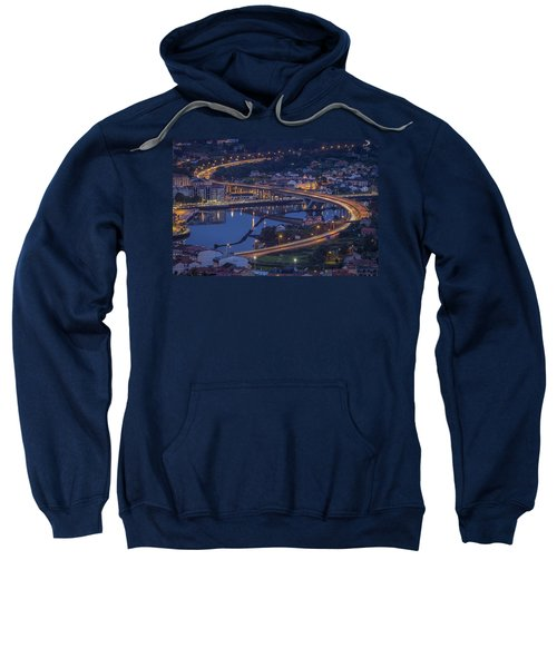Lerez River Pontevedra Galicia Spain Sweatshirt