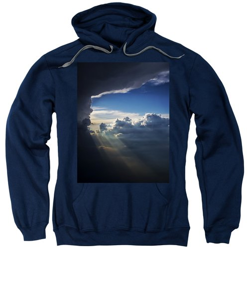 Light Shafts From Thunderstorm II Sweatshirt