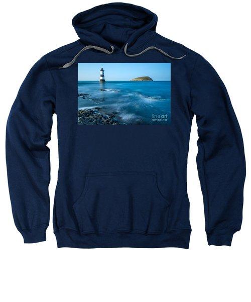 Lighthouse At Penmon Point Sweatshirt