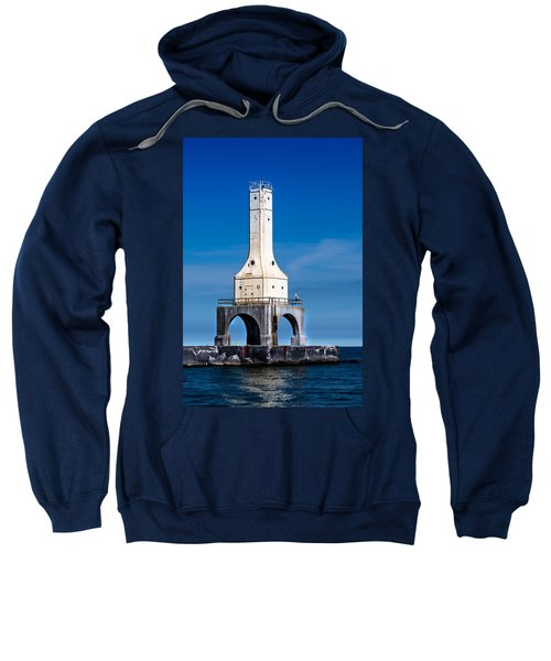Lighthouse Blues Vertical Sweatshirt