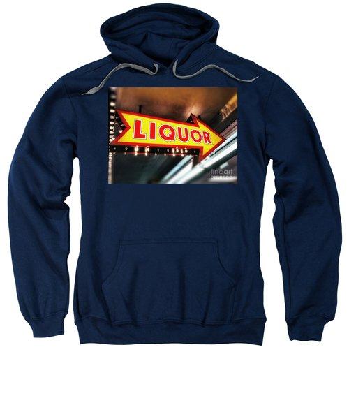 Liquor Store Sign Sweatshirt