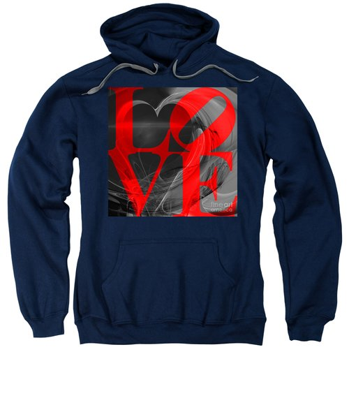 Love Heart 20130707 V1b Sweatshirt