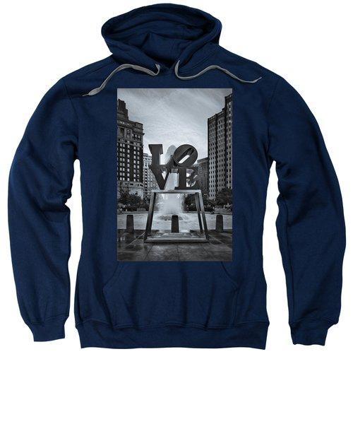 Love Park Bw Sweatshirt